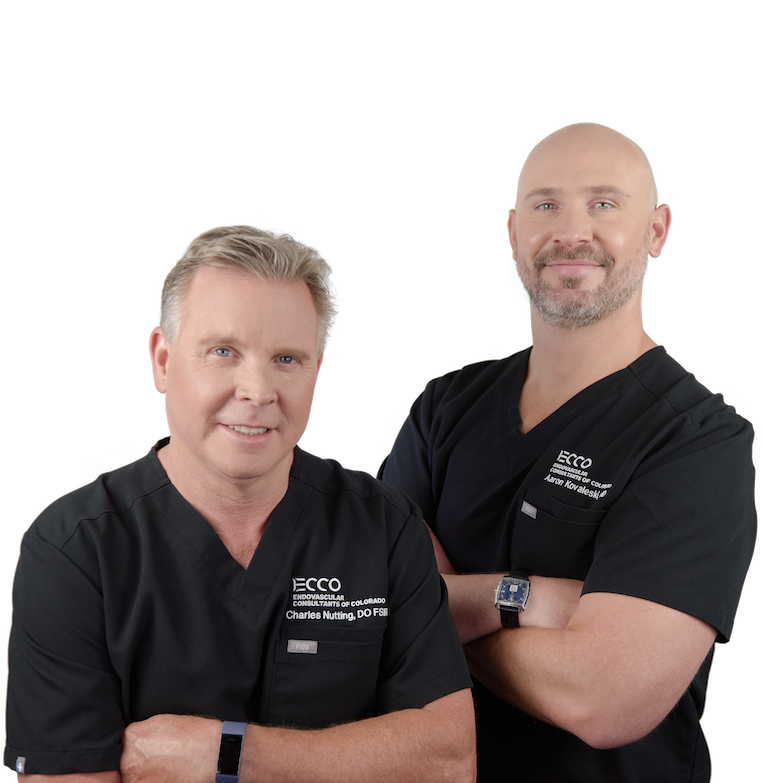 Dr Charles Nutting and Dr Aaron Kovaleski