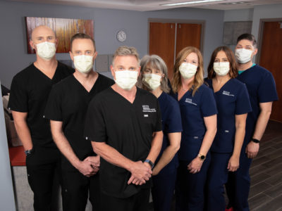 ECCO Outpatient Treatment Team in Masks